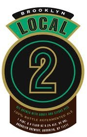 Brooklyn Local 2 beer Label Full Size
