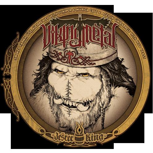 Jester King Viking Metal beer Label Full Size