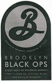 Brooklyn Black Ops 2013 beer