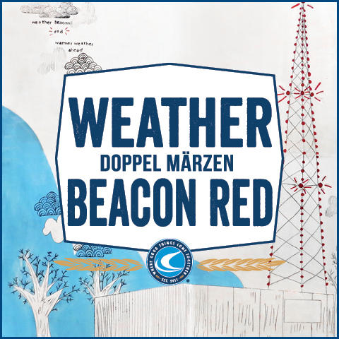 Confluence Weather Beacon Red beer Label Full Size