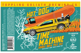 Toppling Goliath + Hop Butcher for the World Hot Dog Time Machine beer