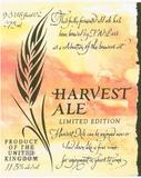 JW Lees Harvest Ale 2007 beer Label Full Size