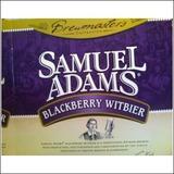 Sam Adams Blackberry Witbier beer