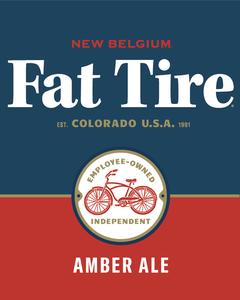 New Belgium Fat Tire Amber Ale Beer