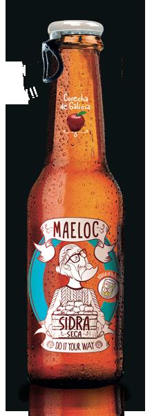 Maeloc Dry Cider beer Label Full Size