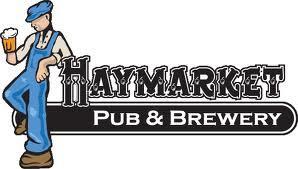 Haymarket Barrel Aged Rosemary's Red Devil beer Label Full Size