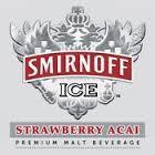 Smirnoff Ice Strawberry Acai beer