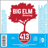 Big Elm 413 Farmhouse Ale beer
