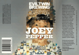 Evil Twin Joey Pepper beer