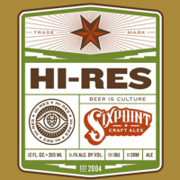 Sixpoint Hi-Res beer Label Full Size