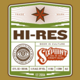 Sixpoint Hi-Res beer