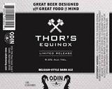Odin Thor's Equinox Belgian Dark Ale Beer