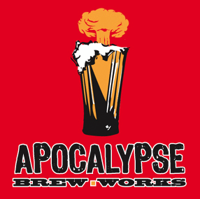 Apocalypse Heavy Red Horseman beer Label Full Size