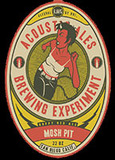 Acoustic Ales Mosh Pit Red beer