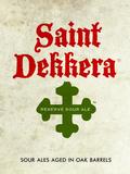 Destihl Saint Dekkera Reserve Sour: Myrtille (Sour Blueberry) beer
