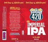 SweetWater Imperial 420 beer