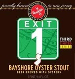 Flying Fish Exit 1 Bayshore Oyster Stout beer
