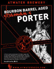 Atwater Shaman's Porter Barrel Aged beer