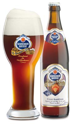 Schneider Aventinus Wheat Doppelbock beer Label Full Size