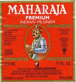 Maharaja Premium Indian Pilsner beer
