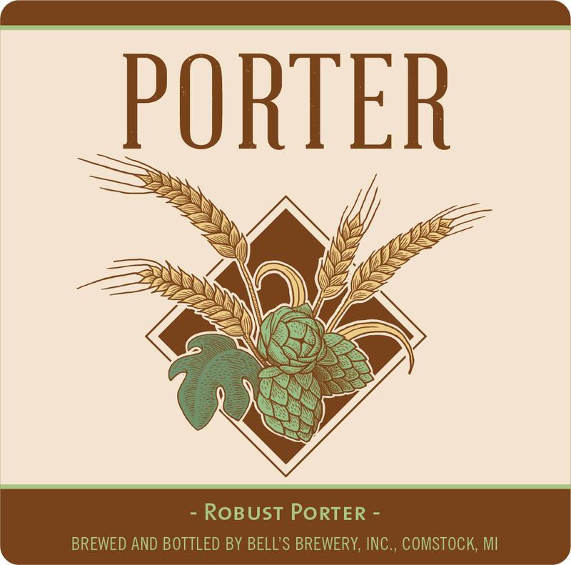 Bell's Porter beer Label Full Size