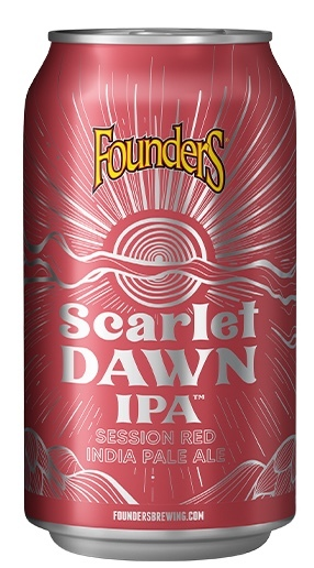 Founders Scarlet Dawn beer Label Full Size
