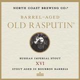 North Coast Barrel-Aged Old Rasputin XVI beer
