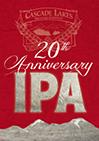 Cascade Lakes 20th Anniversary IPA beer