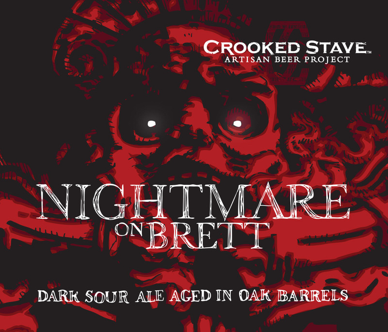 Crooked Stave Nightmare on Brett beer Label Full Size