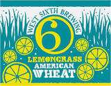 West Sixth Lemongrass Wheat Ale beer