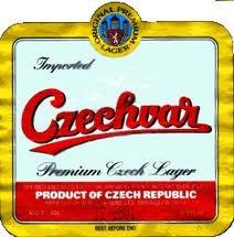 Czechvar beer Label Full Size
