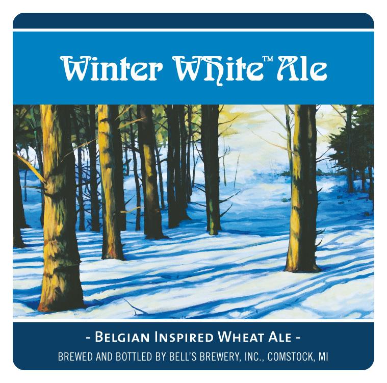 Bell's Winter White beer Label Full Size