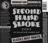 Midnight Sun Second Hand Smoke Beer