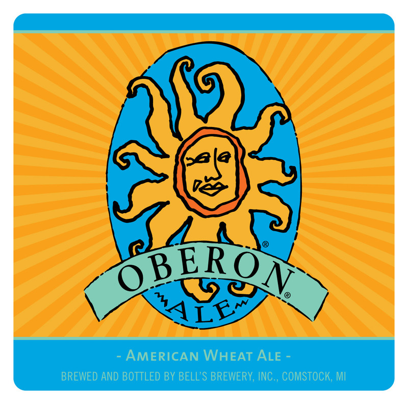 Bell's Oberon beer Label Full Size