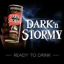 Gosling's Dark 'n Stormy beer Label Full Size