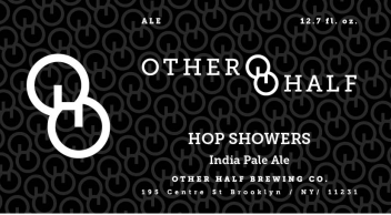 Other Half Hop Showers IPA beer Label Full Size