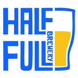 Half Full Double IPA beer