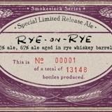 Boulevard Rye-on-Rye 2013 Beer