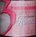 3 Fonteinen Hommage beer Label Full Size