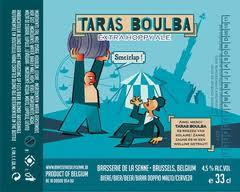 De La Senne Taras Boulba beer Label Full Size