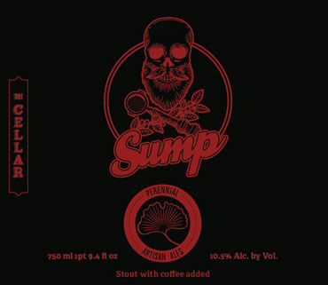 Perennial Sump Coffee Stout beer Label Full Size
