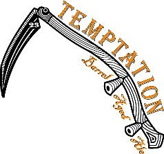 Russian River Temptation beer Label Full Size