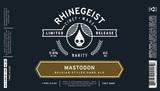 Rhinegeist Mastodon Beer