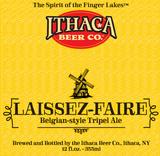 Ithaca Laissez Faire beer