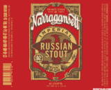 Narragansett Private Stock Imperial Russian Stout beer