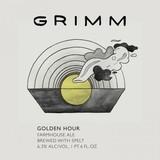 Grimm Golden Hour Beer