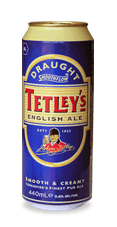 Tetley's English Ale beer Label Full Size