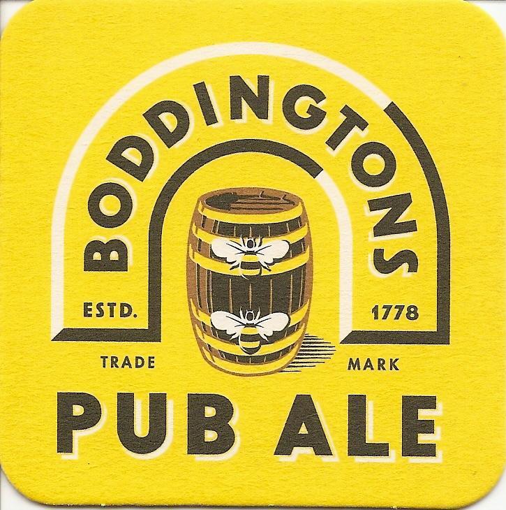 Boddingtons Pub Ale beer Label Full Size