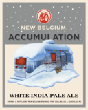 New Belgium Accumulation White IPA beer