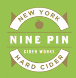 Nine Pin Cider beer Label Full Size
